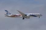 神宮寺ももさんが、成田国際空港で撮影したエル・アル航空 787-9の航空フォト(飛行機 写真・画像)