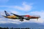 ocean falconさんが、鹿児島空港で撮影した全日空 777-281/ERの航空フォト(写真)