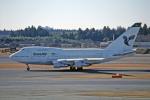 Gambardierさんが、成田国際空港で撮影したイラン航空 747SP-86の航空フォト(写真)