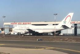 planetさんが、ムハンマド5世国際空港で撮影したロイヤル・エア・モロッコ 747-428の航空フォト(飛行機 写真・画像)