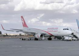 planetさんが、マラケシュ・メナラ空港で撮影したエア・アラビア・モロッコ A320-214の航空フォト(飛行機 写真・画像)
