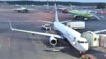 ライトレールさんが、ドモジェドヴォ空港で撮影したノードスター航空 737-8ASの航空フォト(飛行機 写真・画像)