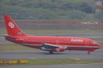 SFJ_capさんが、成田国際空港で撮影したオーロラ 737-2J8/Advの航空フォト(写真)