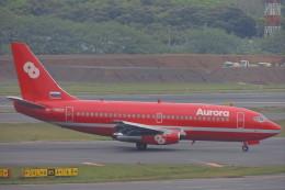 SFJ_capさんが、成田国際空港で撮影したオーロラ 737-2J8/Advの航空フォト(飛行機 写真・画像)