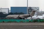 スポット110さんが、羽田空港で撮影したプライベートエア Gulfstream G650 (G-VI)の航空フォト(飛行機 写真・画像)
