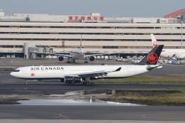 サリーちゃんのパパさんが、羽田空港で撮影したエア・カナダ A330-343Xの航空フォト(飛行機 写真・画像)