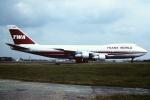 tassさんが、ロンドン・ガトウィック空港で撮影したトランス・ワールド航空 747-131の航空フォト(写真)