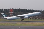 KAZFLYERさんが、成田国際空港で撮影したキャセイパシフィック航空 A330-343Xの航空フォト(写真)