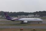 KAZFLYERさんが、成田国際空港で撮影したタイ国際航空 A330-343Xの航空フォト(写真)