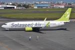 MOR1(新アカウント)さんが、宮崎空港で撮影したソラシド エア 737-86Nの航空フォト(飛行機 写真・画像)