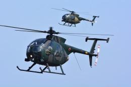 storyさんが、明野駐屯地で撮影した陸上自衛隊 OH-6Dの航空フォト(飛行機 写真・画像)