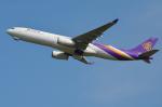 Co-pilootjeさんが、成田国際空港で撮影したタイ国際航空 A330-343Xの航空フォト(飛行機 写真・画像)