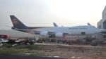 誘喜さんが、台湾桃園国際空港で撮影したUPS航空 747-8Fの航空フォト(写真)