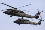 Hii0802さんが、明野駐屯地で撮影した陸上自衛隊 UH-60JAの航空フォト(写真)