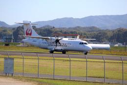 素足の女神さんが、出雲空港で撮影した日本エアコミューター ATR-42-600の航空フォト(飛行機 写真・画像)