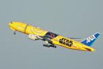 スカルショットさんが、新千歳空港で撮影した全日空 777-281/ERの航空フォト(飛行機 写真・画像)