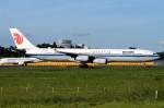 キットカットさんが、成田国際空港で撮影した中国国際航空 A340-313Xの航空フォト(飛行機 写真・画像)