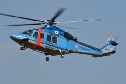 ブルーさんさんが、朝日航洋川越メンテナンスセンターで撮影した千葉県警察 AW139の航空フォト(飛行機 写真・画像)