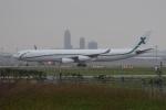Timothyさんが、成田国際空港で撮影したエアXチャーター A340-312の航空フォト(飛行機 写真・画像)