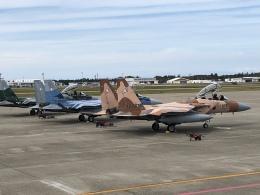 おじゃるまるさんが、小松空港で撮影した航空自衛隊 F-15DJ Eagleの航空フォト(飛行機 写真・画像)