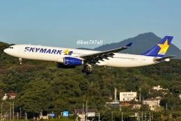 kan787allさんが、福岡空港で撮影したスカイマーク A330-343Xの航空フォト(飛行機 写真・画像)