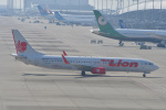 T.Sazenさんが、関西国際空港で撮影したタイ・ライオン・エア 737-9GP/ERの航空フォト(写真)