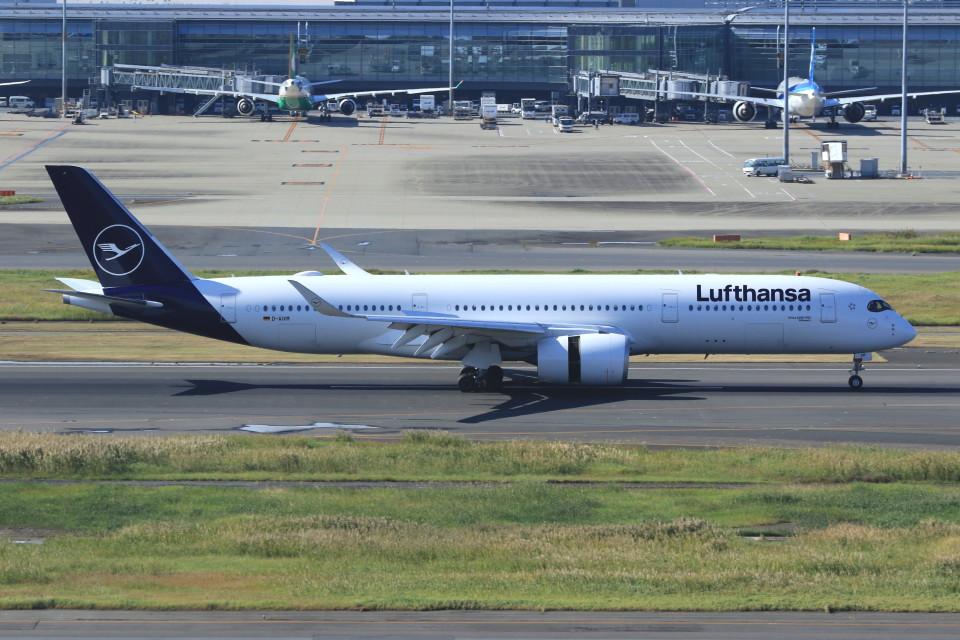 Espace77さんのルフトハンザドイツ航空 Airbus A350-900 (D-AIXM) 航空フォト