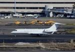 Espace77さんが、羽田空港で撮影したFAI Air Service BD-700-1A10 Global Expressの航空フォト(写真)