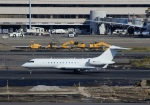 Espace77さんが、羽田空港で撮影したFAI Air Service BD-700-1A10 Global Expressの航空フォト(飛行機 写真・画像)