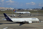 Espace77さんが、羽田空港で撮影したルフトハンザドイツ航空 A350-941XWBの航空フォト(写真)