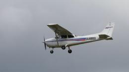 raichanさんが、成田国際空港で撮影した日本モーターグライダークラブ 172R Skyhawkの航空フォト(飛行機 写真・画像)