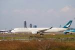cocoa11さんが、成田国際空港で撮影したキャセイパシフィック航空 A350-1041の航空フォト(写真)