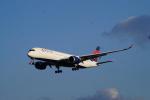 cocoa11さんが、成田国際空港で撮影したデルタ航空 A350-941XWBの航空フォト(写真)