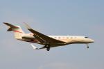 Co-pilootjeさんが、成田国際空港で撮影したユタ銀行 G650 (G-VI)の航空フォト(飛行機 写真・画像)