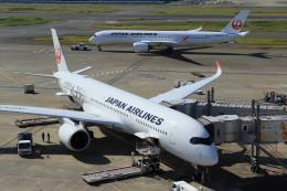 Espace77さんが、羽田空港で撮影した日本航空 A350-941の航空フォト(飛行機 写真・画像)
