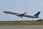 kuro2059さんが、ダニエル・K・イノウエ国際空港で撮影したユナイテッド航空 757-33Nの航空フォト(飛行機 写真・画像)