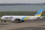 Hiro-hiroさんが、羽田空港で撮影したAIR DO 767-33A/ERの航空フォト(写真)