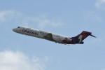 kuro2059さんが、ダニエル・K・イノウエ国際空港で撮影したハワイアン航空 717-26Rの航空フォト(写真)