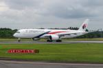 delawakaさんが、成田国際空港で撮影したマレーシア航空 A350-941XWBの航空フォト(写真)