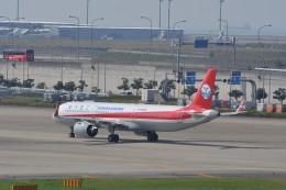 T.Sazenさんが、関西国際空港で撮影した四川航空 A321-271Nの航空フォト(飛行機 写真・画像)