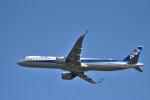 we love kixさんが、関西国際空港で撮影した全日空 A321-272Nの航空フォト(飛行機 写真・画像)