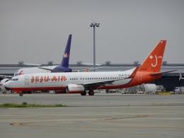 worldstarさんが、関西国際空港で撮影したチェジュ航空 737-8Q8の航空フォト(飛行機 写真・画像)