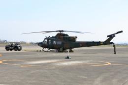 徳兵衛さんが、明野駐屯地で撮影した陸上自衛隊 XUH-2の航空フォト(飛行機 写真・画像)