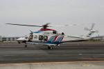 徳兵衛さんが、明野駐屯地で撮影した三重県防災航空隊 AW139の航空フォト(写真)