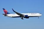 islandsさんが、成田国際空港で撮影したデルタ航空 767-3P6/ERの航空フォト(写真)