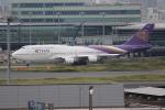 OMAさんが、羽田空港で撮影したタイ国際航空 747-4D7の航空フォト(写真)