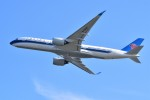 T.Sazenさんが、関西国際空港で撮影した中国南方航空 A350-900の航空フォト(飛行機 写真・画像)