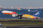 よんろくさんが、羽田空港で撮影した全日空 777-281/ERの航空フォト(写真)