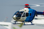 NCT310さんが、東京ヘリポートで撮影した中日新聞社 EC135P2の航空フォト(写真)