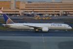 あしゅーさんが、羽田空港で撮影したユナイテッド航空 787-9の航空フォト(飛行機 写真・画像)